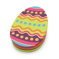 Signature Collection Colorful Oval Egg