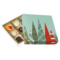9 Piece Signature Collection Christmas Trees Box